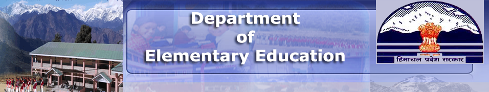 Elementary Education Department, Government of Himachal Pradesh
