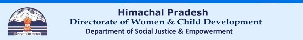 Women & Child Development Department, Government of Himachal Pradesh