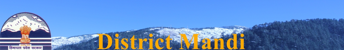 Mandi  District  Official Website, Himachal Pradesh