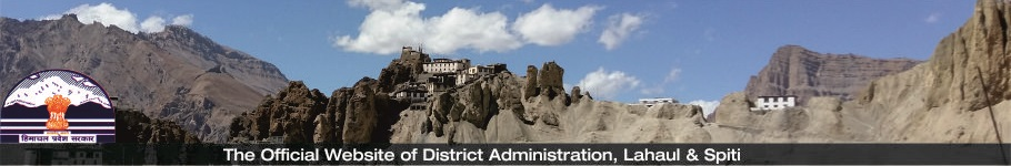 Lahaul & Spiti , District Website, HP