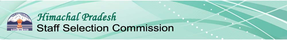 HP Staff Selection Commission  - HPSSC