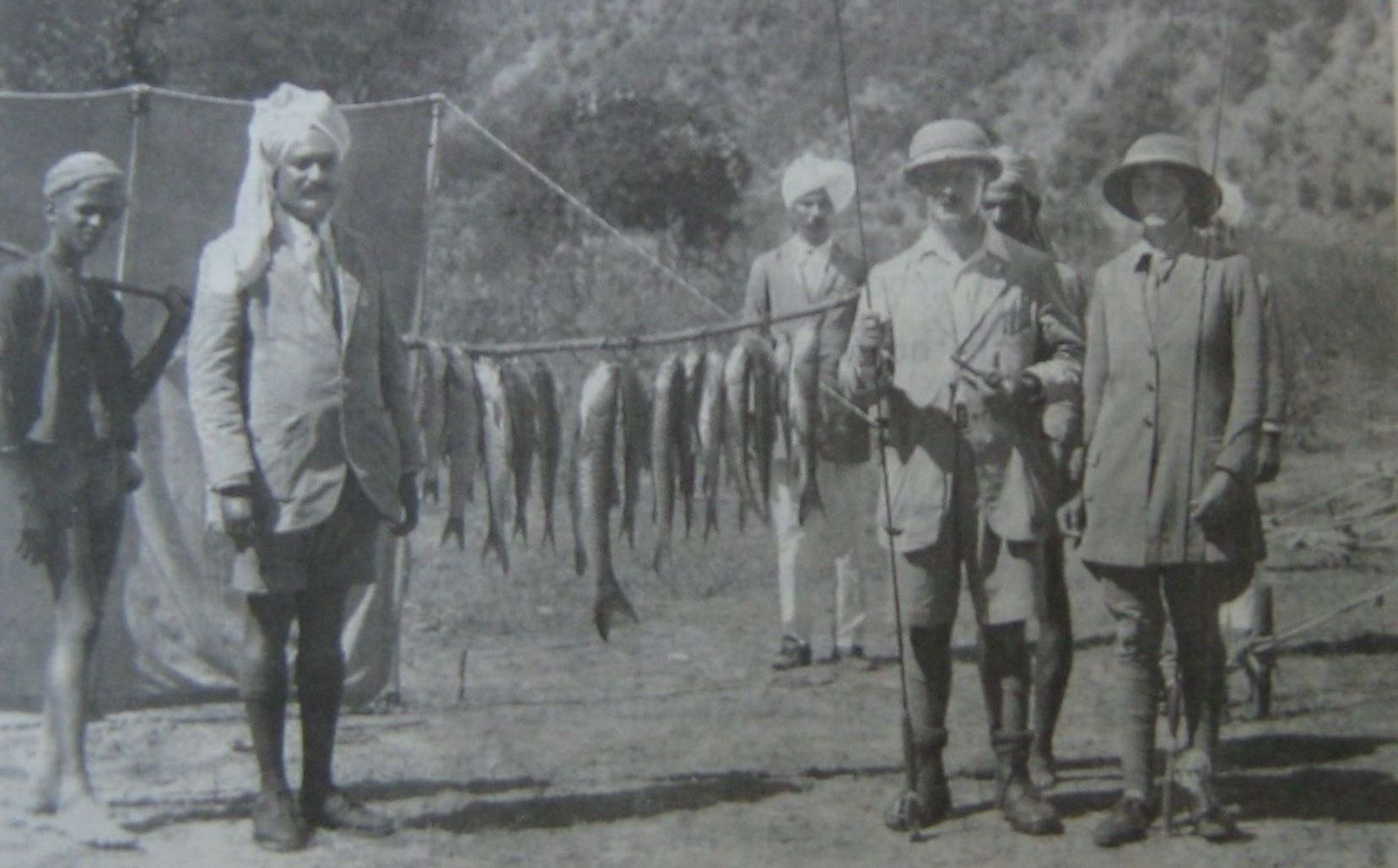 Angling in India in the Old Days