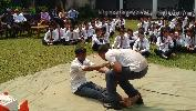 Mock Drill by NDRF at Govt. PG College Bilaspur