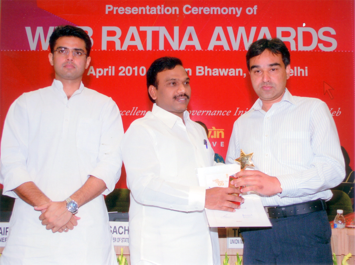 Web Ratna Gold Icon Award