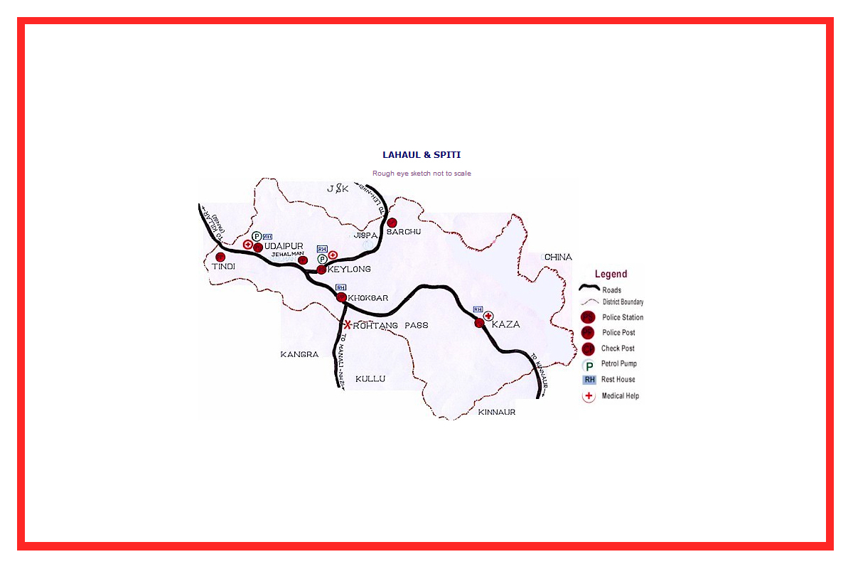 District Maps With Medical Aids Government Of Himachal